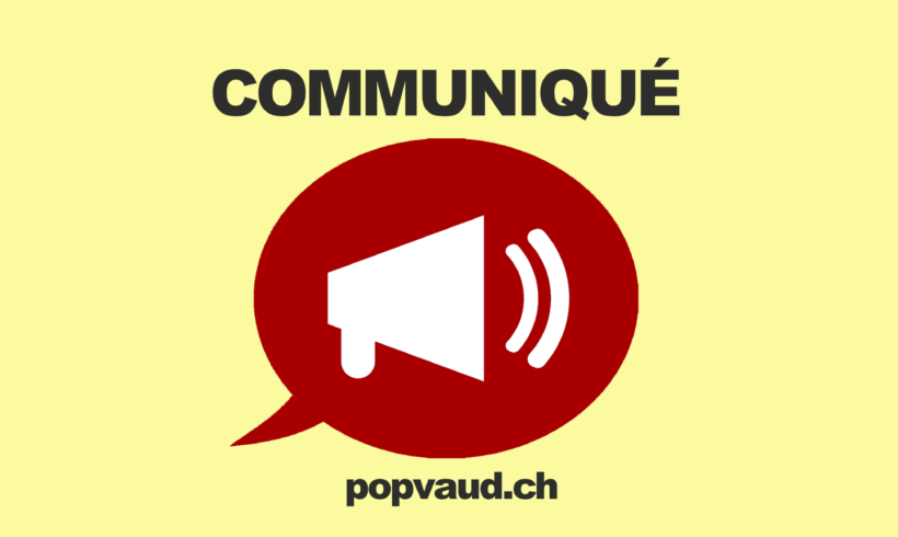 Communiqué du POP Vaud – Fiscalité: ne pénalisons pas les plus modestes
