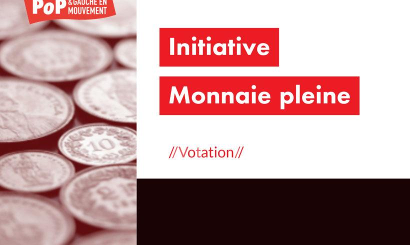 Vidéo sur l'initiative Monnaie pleine
