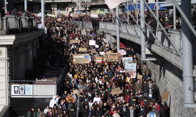 Communiqué : Grève du climat un procès politique